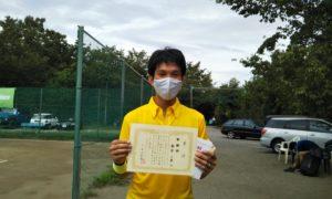 第5回 桜田倶楽部 男子シングルス準優勝:柳田 一圭選手