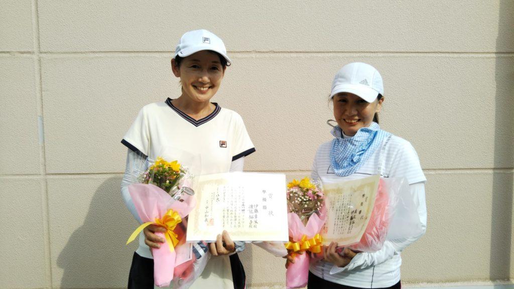 準優勝:伊藤・渡辺ペア
