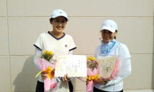 第1584回 緑ヶ丘テニスガーデン 女子ダブルス準優勝:伊藤・渡辺ペア