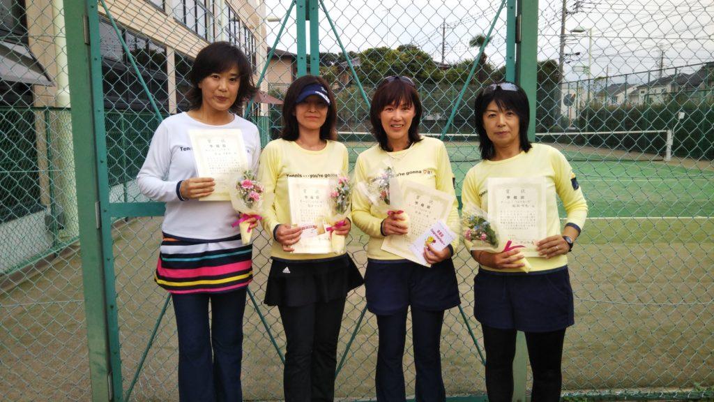 準優勝:春山・高谷・岡西・殿岡チーム