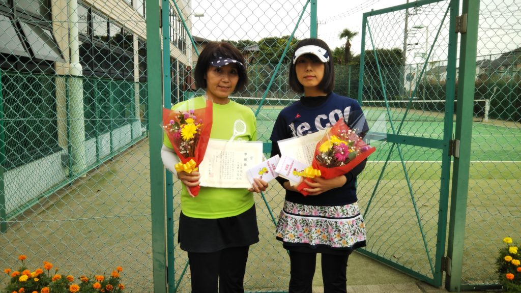 準優勝:小見野・三重野ペア