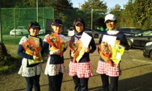 第1599回 桜田倶楽部 女子チーム戦準優勝:宇田川・元岡・小林・葛西チーム