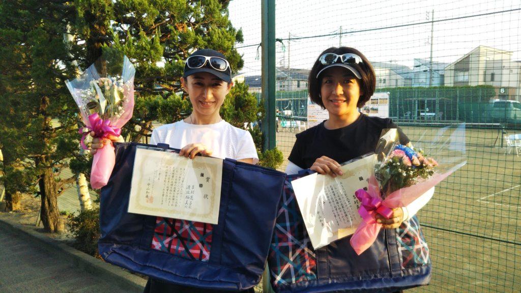 優勝:吉村・渡辺ペア