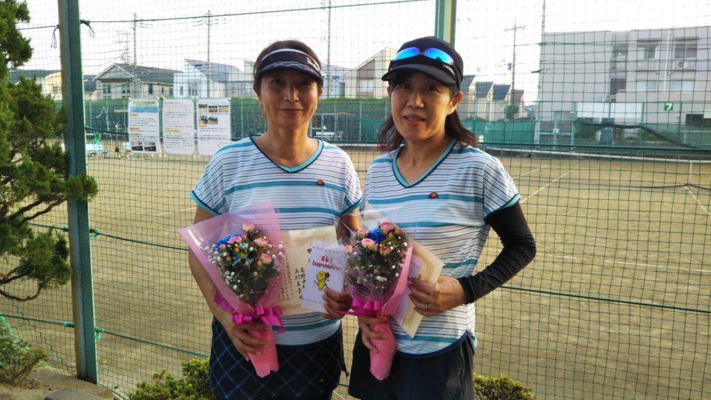 準優勝:髙野・西村ペア