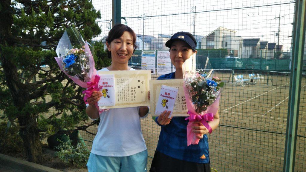 優勝:河本・木村ペア