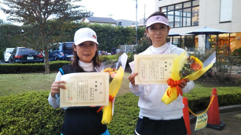 準優勝:金子・森田ペア
