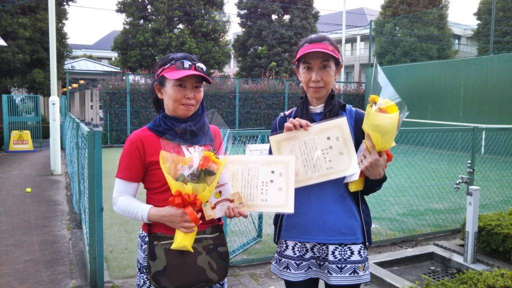優勝:和田・原田ペア