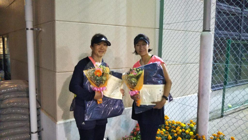 優勝:高津・町田ペア