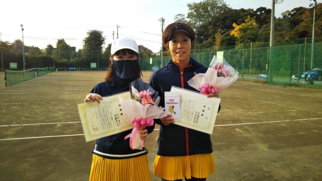 準優勝:別所・佐藤ペア