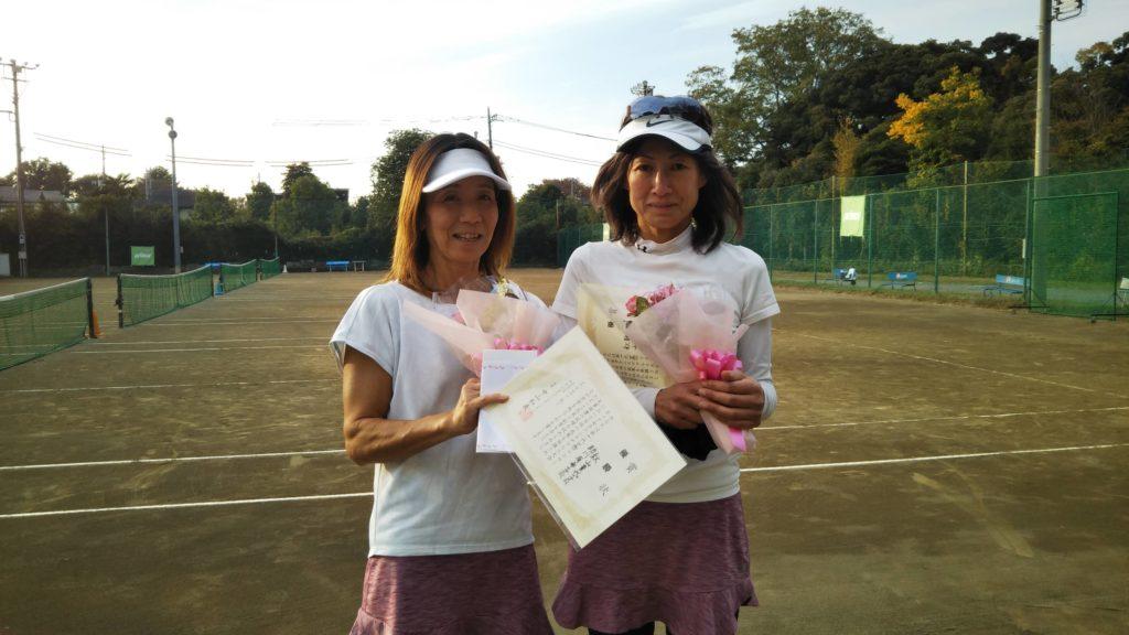 優勝:秋山・助川ペア