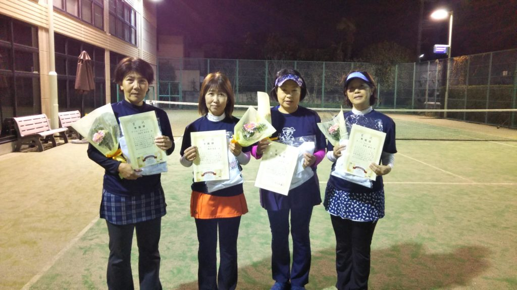 準優勝:長谷川・橋本・山本・宮本チーム
