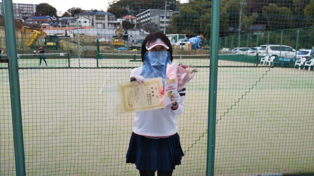 準優勝:田中・岩崎ペア