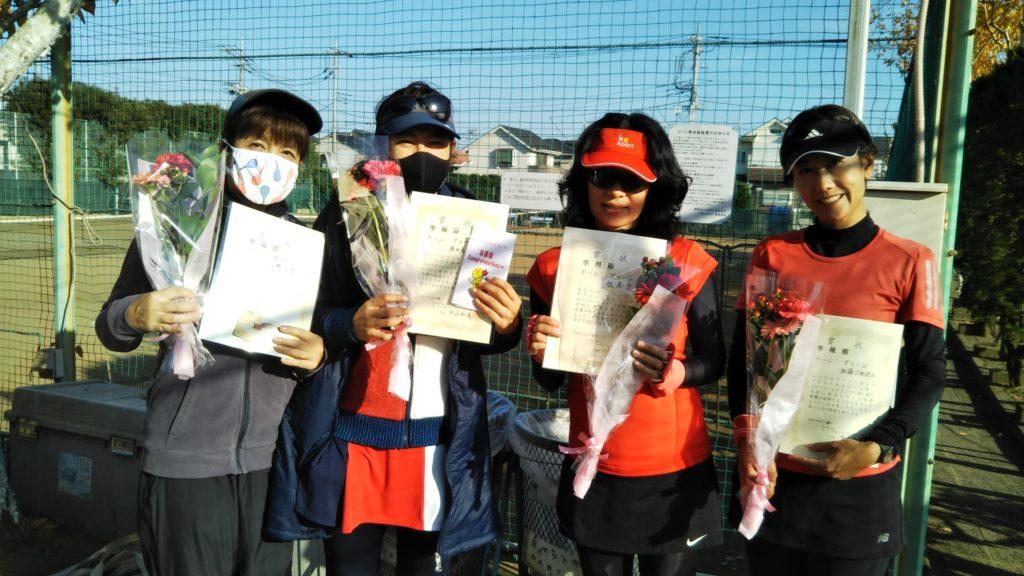 準優勝:小鴨・原田・飯高・加藤チーム