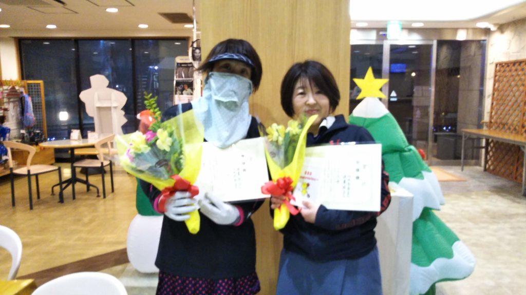 準優勝:垣屋・山田ペア