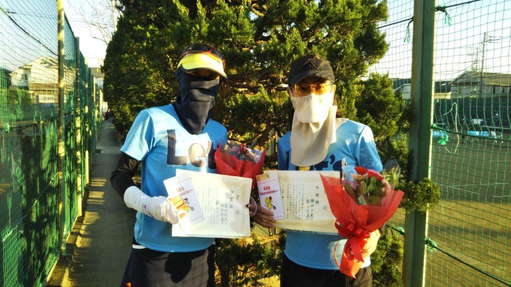 準優勝:柴山・横田ペア