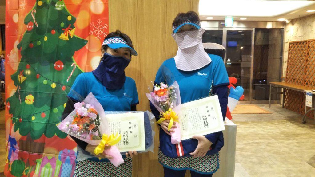 準優勝:両角・小林ペア
