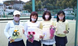 第1629回 百草テニスガーデン 女子チーム戦優勝:『ホワイトデビル』
