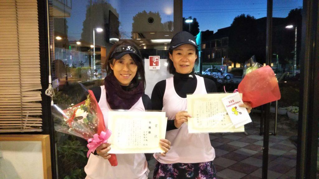 準優勝:中里・長橋ペア