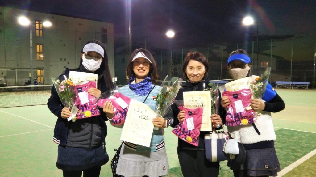 準優勝:三橋・宮本・横内・前田チーム