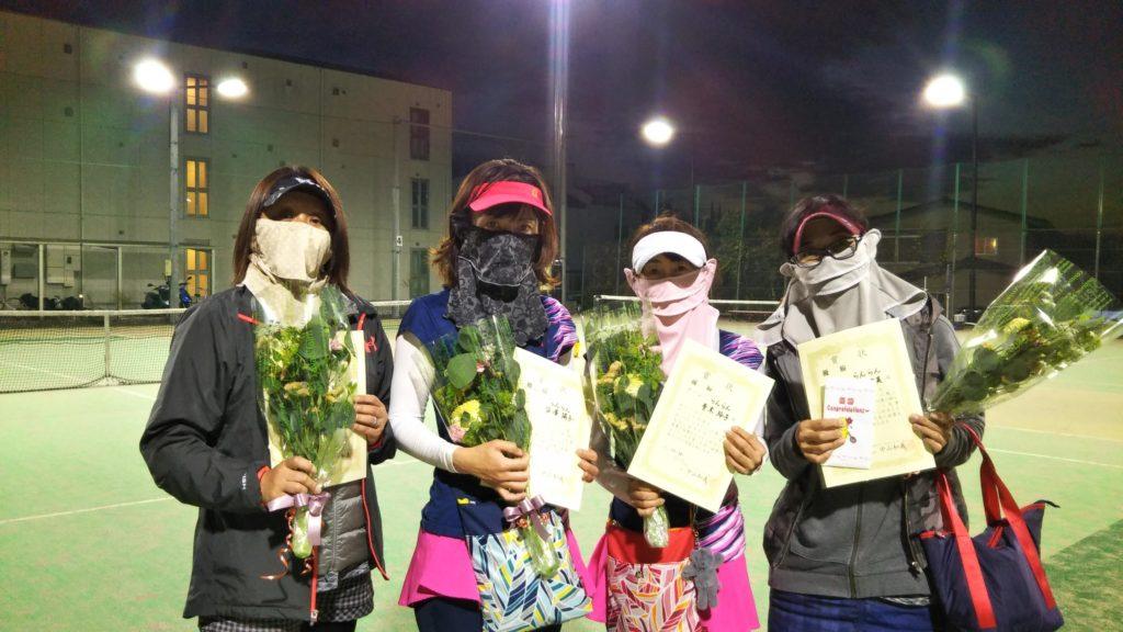 優勝:岩田・沓澤・青木・今井チーム