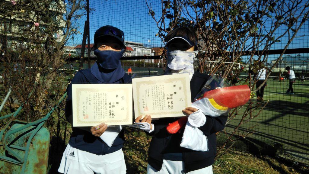 優勝:小柳・増田ペア