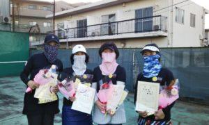 第1637回 桜台テニスクラブ 女子チーム戦準優勝:『ナオミーズ』