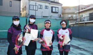 第1637回 桜台テニスクラブ 女子チーム戦優勝:『GOTO桜台』