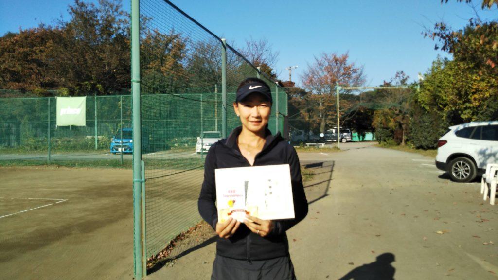 準優勝:川合選手