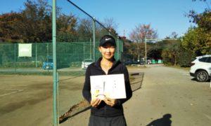 第2回 桜田倶楽部 女子シングルス準優勝:川合選手