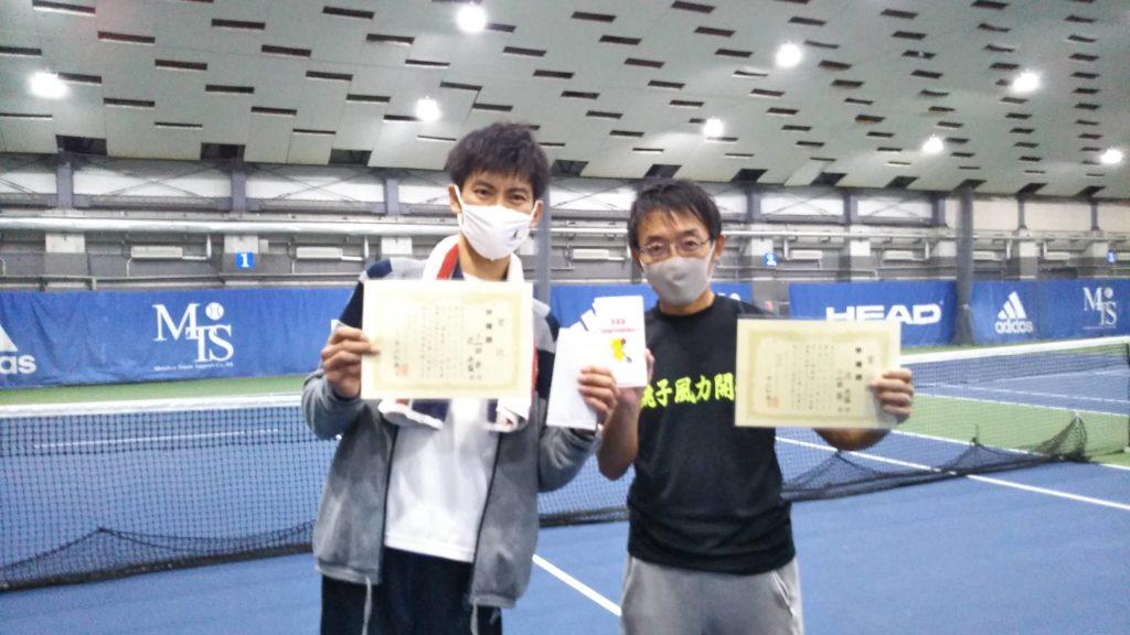 準優勝:小山田・辻ペア