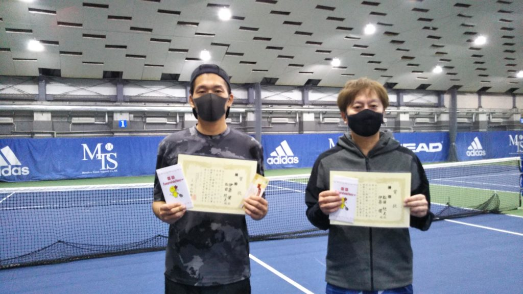 優勝:伊藤・松田ペア