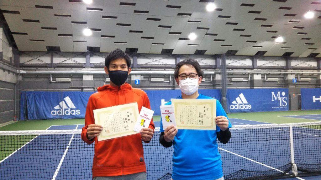 準優勝:藤原・小島ペア