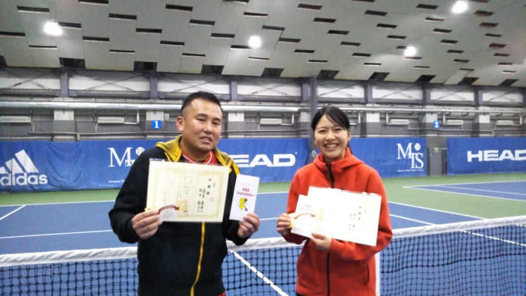 準優勝:高見・田中ペア