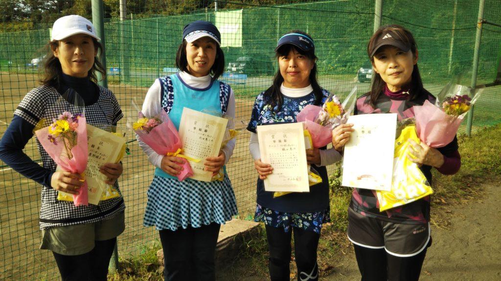 準優勝:桑野・杉田・梶山・柳沢チーム