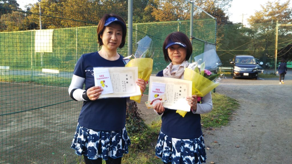 準優勝:岩崎・田中ペア