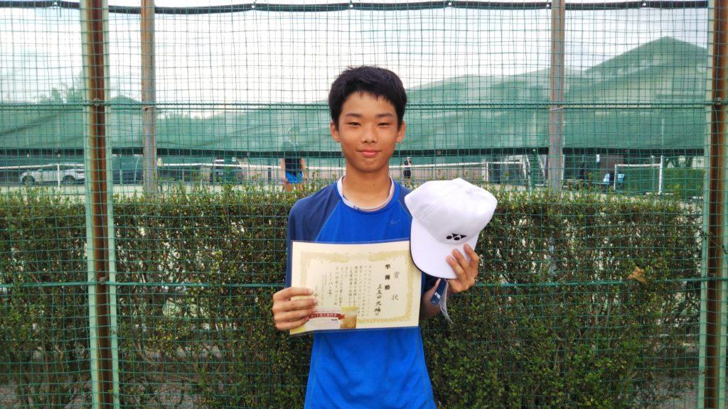 準優勝:五反田 光稀選手