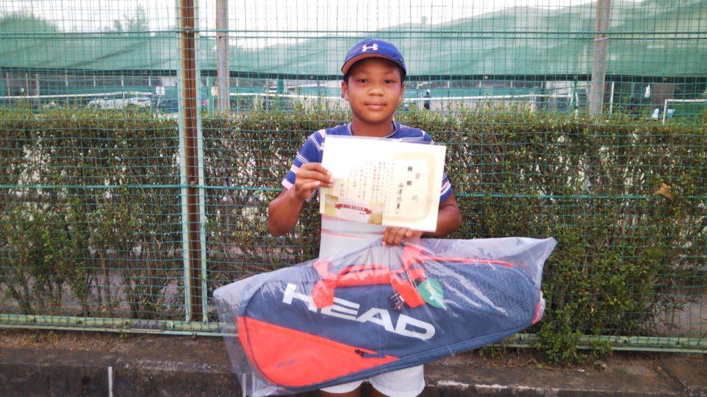 優勝:西澤 悠貴選手