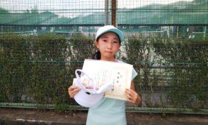 第35回 関町ローンテニスクラブ 中学生女子準優勝:小菅 美緒選手