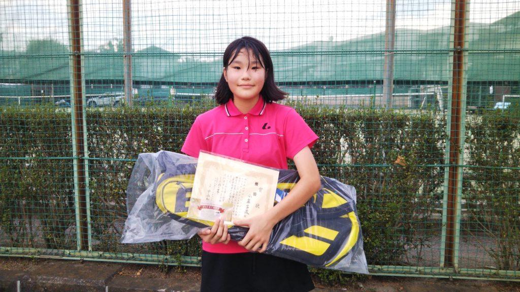 優勝:小栗 言泉選手