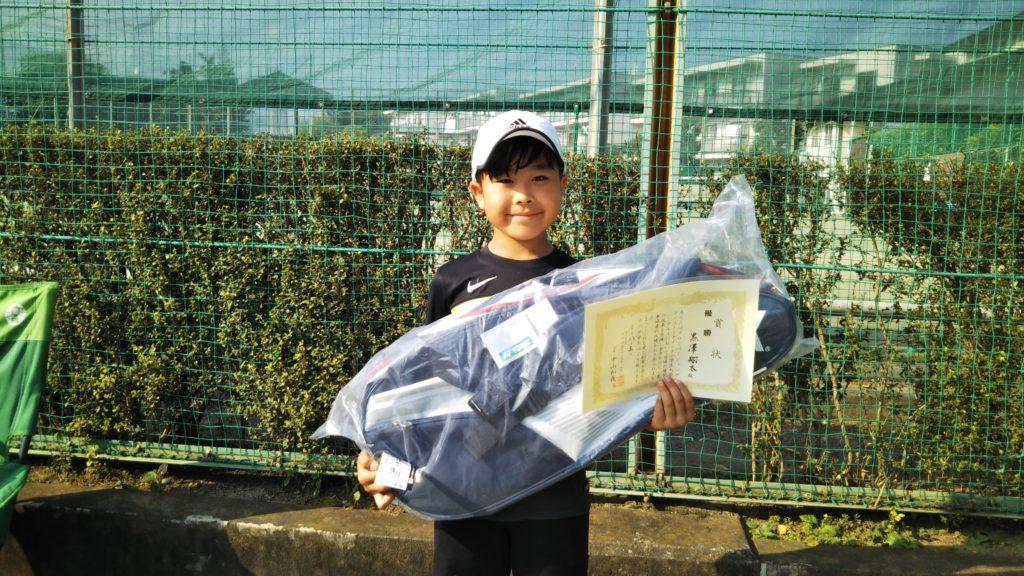 優勝:黒澤 翔太選手