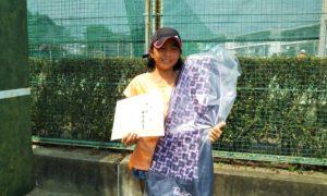 第46回 関町ローンテニスクラブ 小学生女子10歳以下優勝:梅澤 菜々美選手