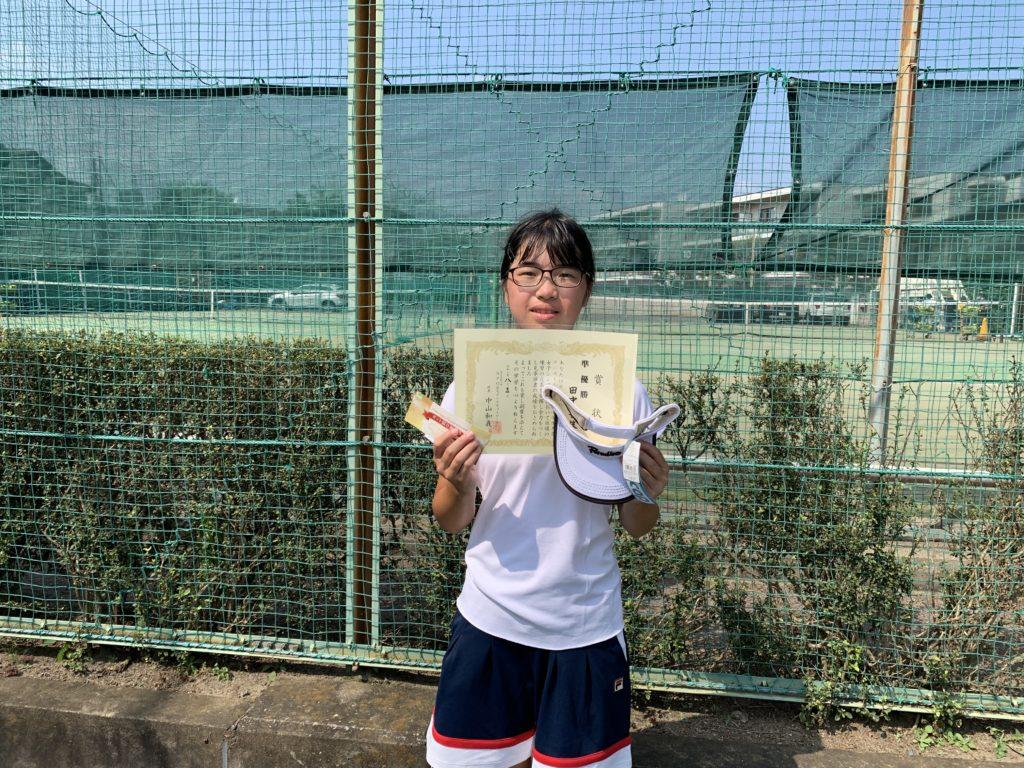 準優勝:田中 杏佳選手
