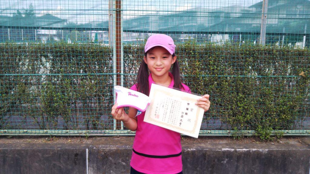 準優勝:加藤 光希選手