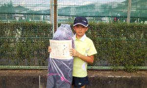 第47回 関町ローンテニスクラブ 小学生女子10歳以下優勝:羽生田 杏選手
