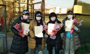 第1645回 桜台テニスクラブ 女子チーム戦優勝:『リトル』