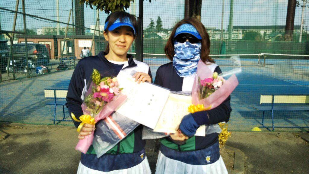 準優勝:古川・木村ペア