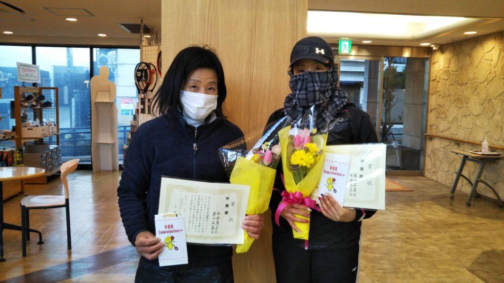 準優勝:水谷・柴山ペア