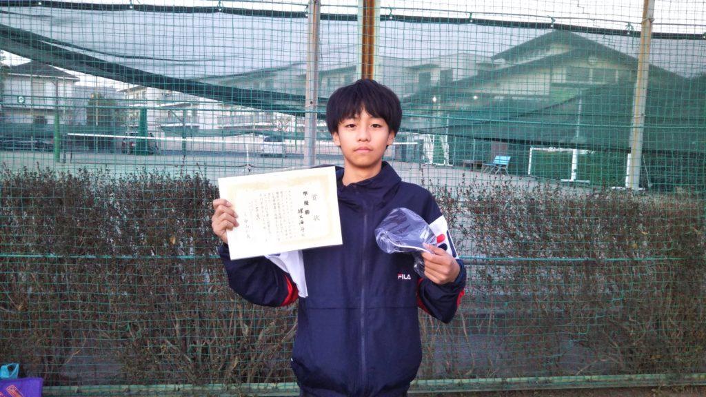準優勝:猪又 海斗選手