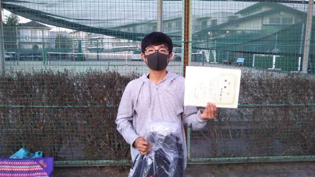 優勝:吉田 彩人選手
