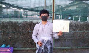 第36回 関町ローンテニスクラブ 中学生男子優勝:吉田 彩人選手